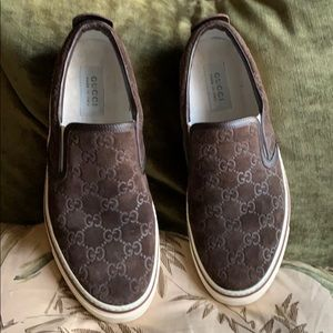 Gucci Men's Slip-On Sneakers